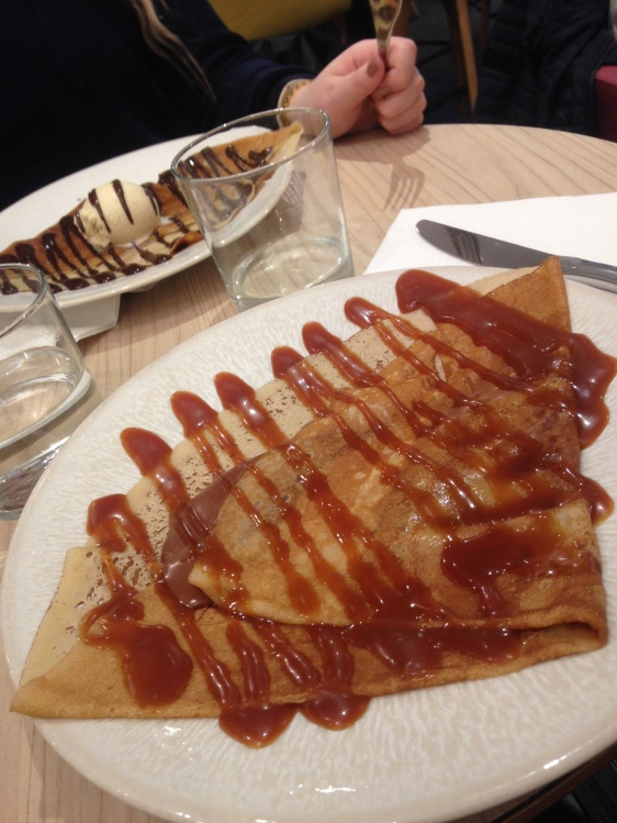 2 of many, many crepes