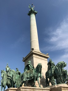 Heroes' Square Statues, Budapest