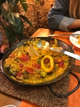 Seafood Paella in Seville, Spain